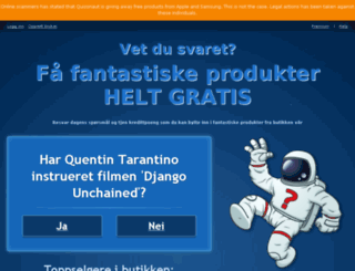no.quizonaut.com screenshot