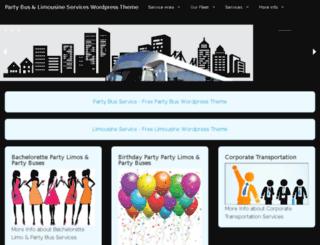 no1partybus.com screenshot