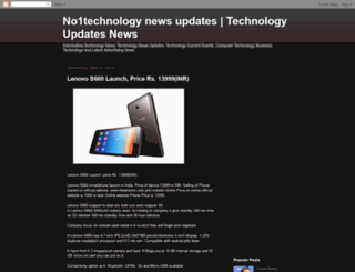 no1technews.blogspot.com screenshot