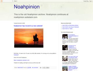 noahpinionblog.blogspot.it screenshot