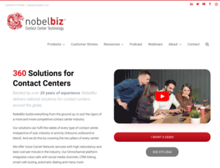 nobelbiz.com screenshot