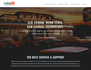 noble1solutions.com screenshot