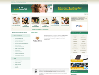noblebank.kredythouse.pl screenshot