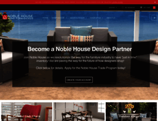 noblehousefurniture.com screenshot