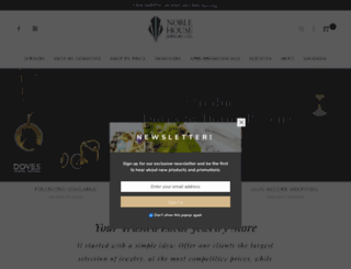 noblehousejewelry.com screenshot