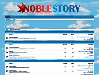 noblestory.boards.net screenshot