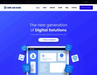 noblewebstudio.com screenshot