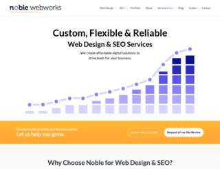 noblewebworks.com screenshot