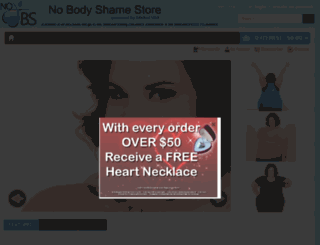 nobodyshamestore.com screenshot