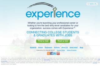 nobts.experience.com screenshot