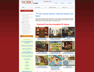 nobugames.com screenshot