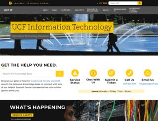 noc.ucf.edu screenshot