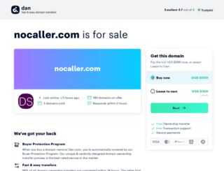 nocaller.com screenshot