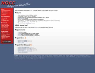 nocc.sourceforge.net screenshot