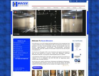 noceeelevators.com screenshot