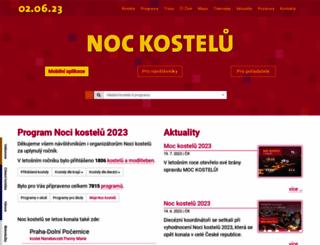 nockostelu.cz screenshot