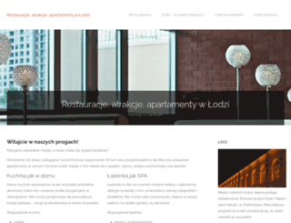 noclegi-lodz.pl screenshot