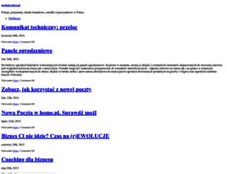 noclegi.entro.pl screenshot