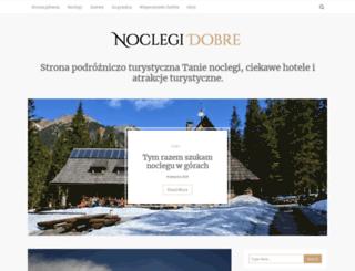 noclegidobre.pl screenshot