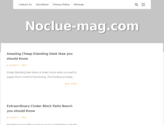 noclue-mag.com screenshot