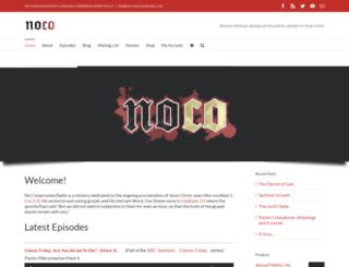 nocompromiseradio.com screenshot