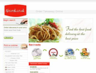 nocook.co.uk screenshot