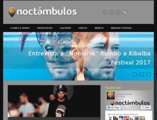 noctambulosguia.mx screenshot