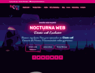 nocturnaweb.es screenshot