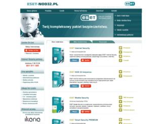 nod-32.pl screenshot