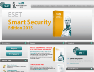 nod32antivirus.nl screenshot