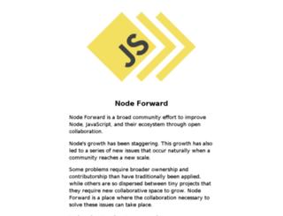 nodeforward.org screenshot