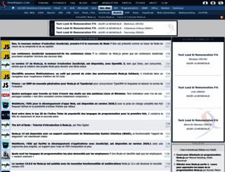 nodejs.developpez.com screenshot