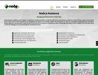 nodejsindia.com screenshot