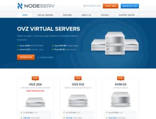 nodeserv.com screenshot