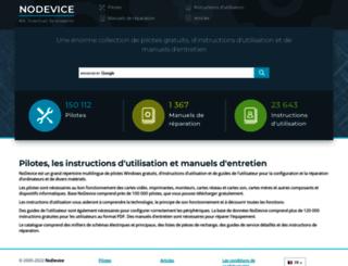 nodevice.fr screenshot