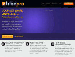noexcuses.tribepro.com screenshot