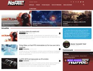 nofrag.com screenshot