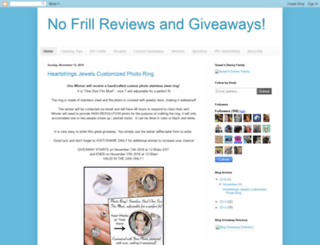 nofrillreviews.blogspot.com screenshot
