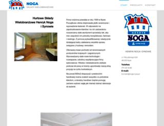 noga.nysa.pl screenshot