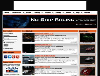 nogripracing.com screenshot