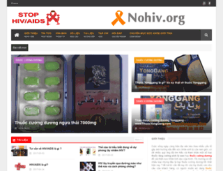 nohiv.org screenshot
