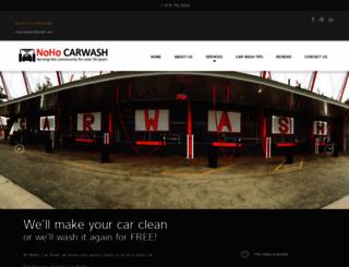 nohocarwash.com screenshot