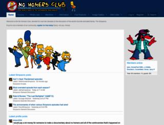 nohomers.net screenshot