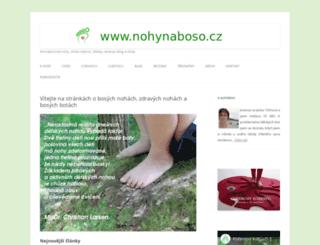 nohynaboso.cz screenshot