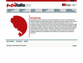 noi-italia.istat.it screenshot