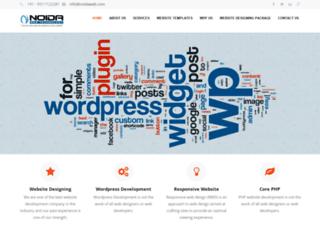noidaweb.com screenshot