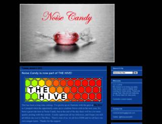 noisecandy.blogspot.com screenshot