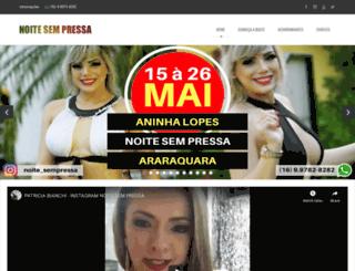 noitesempressa.com.br screenshot