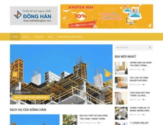 noithatdonghan.com screenshot