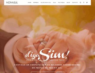 noivasul.com.br screenshot
